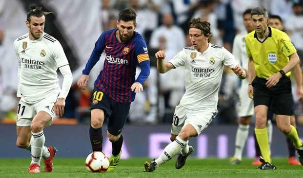 Lionel Messi and Luka Modric