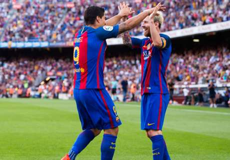 'Messi is a beast' - Suarez hails Messi