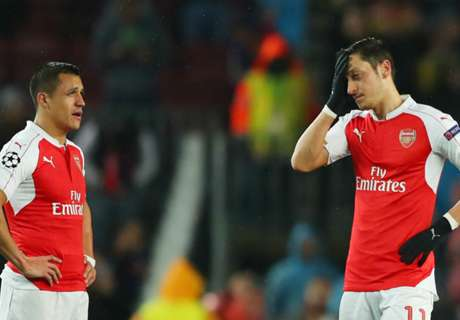 Arsenal Hentikan Pembicaraan Kontrak Sanchez & Ozil