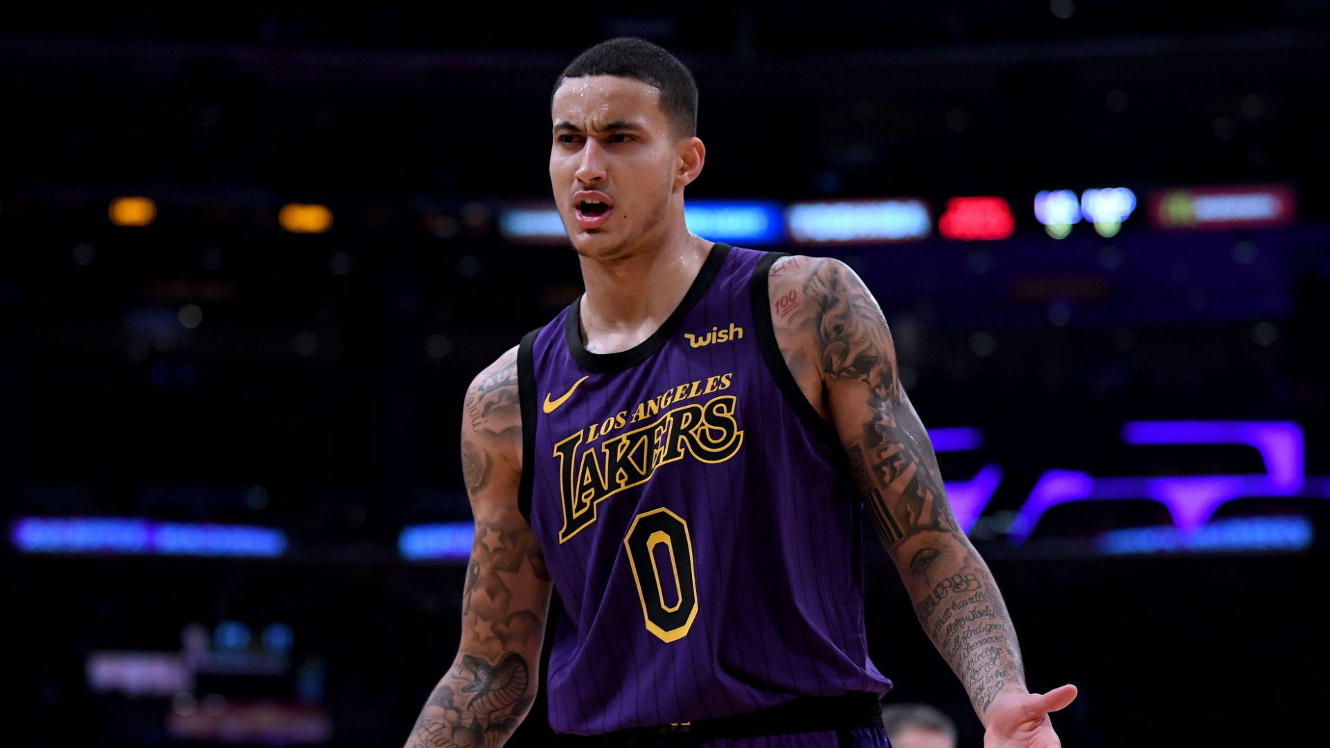Kyle Kuzma injury update: Lakers forward's MRI reveals lower back contusion, report says