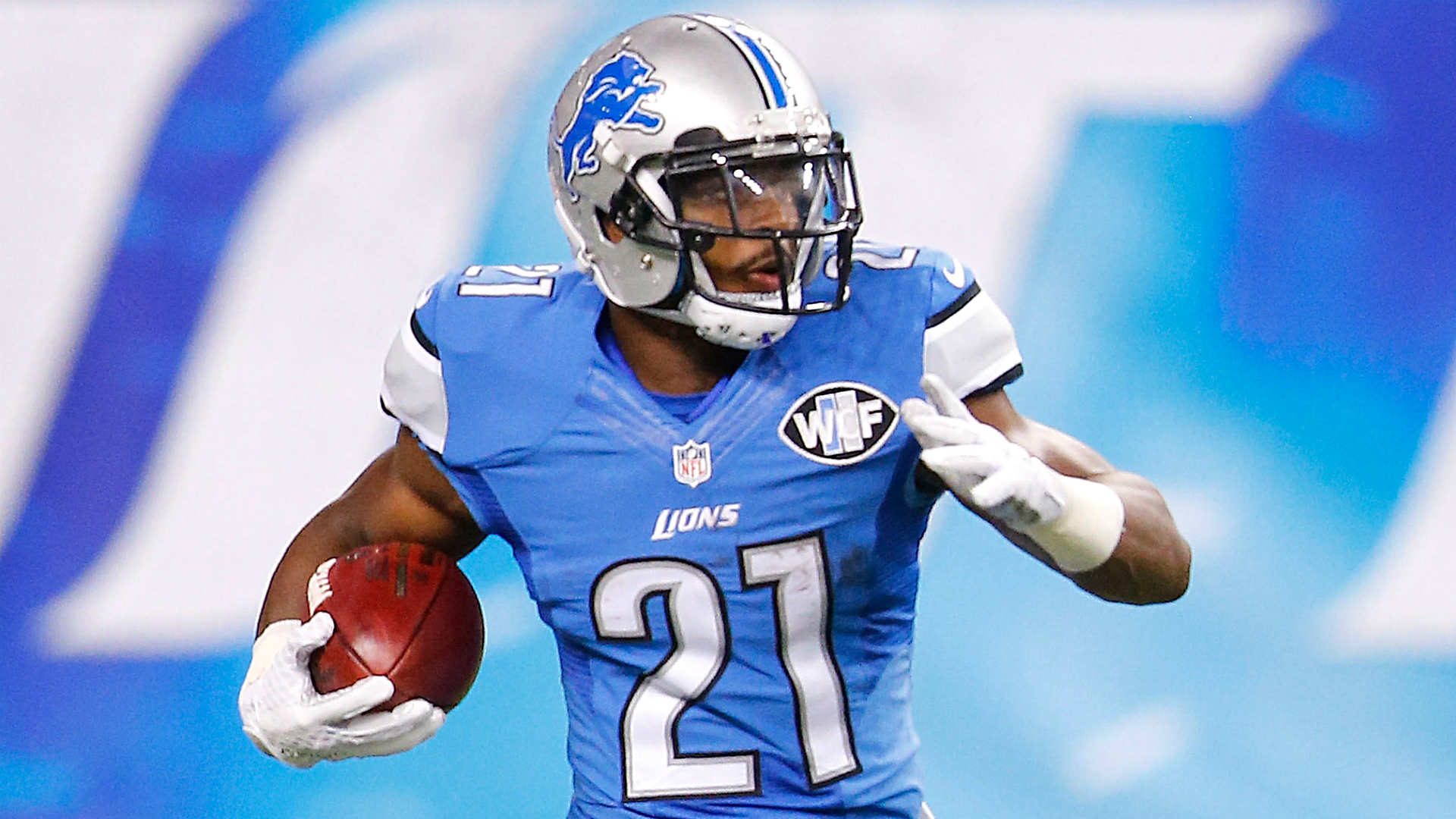 ameer abdullah Abdullah injured his foot during a 16-15 loss sunday against the tennessee titans multiple outlets are reporting he is believed to have a foot sprain.