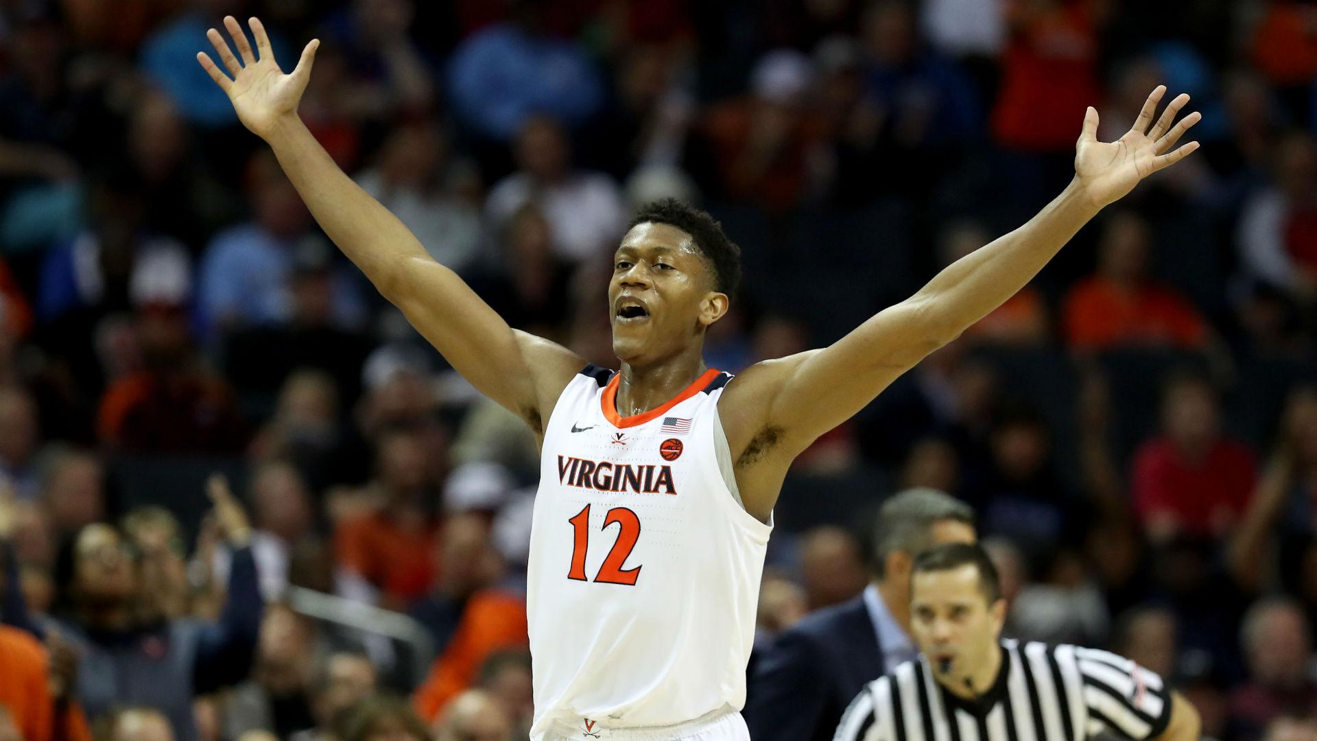 NBA Draft 2019: Virginia star De'Andre Hunter declares