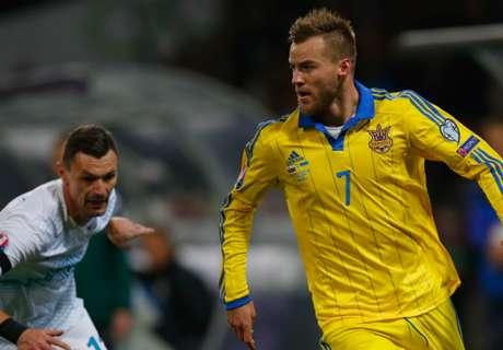 Slovenia 1-1 Ukraine (1-3 Agg.): Curse over
