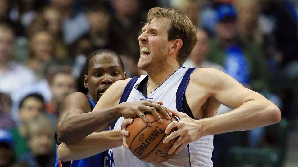 Dirk Nowitzki on Kevin Durant-CJ McCollum Twitter spat: I don't know why KD responds