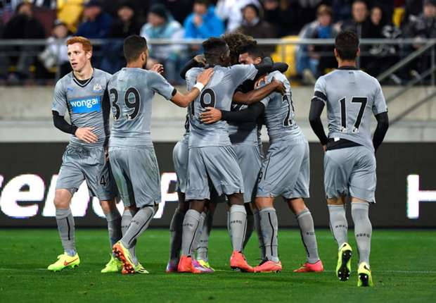 Newcastle United 1-0 Wellington Phoenix: Gouffran's goal the difference