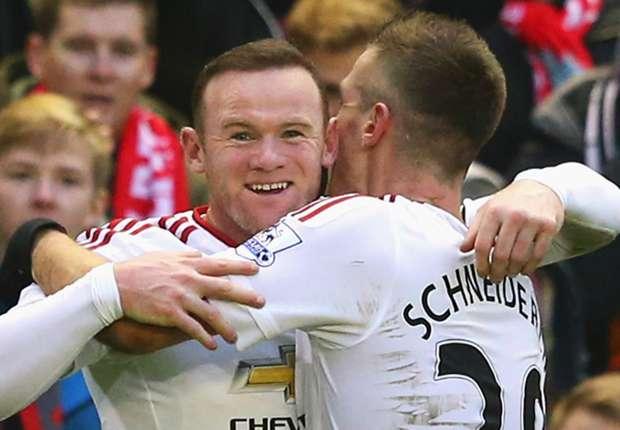 Rooney happy again after Man Utd exit, says Everton team-mate Schneiderlin