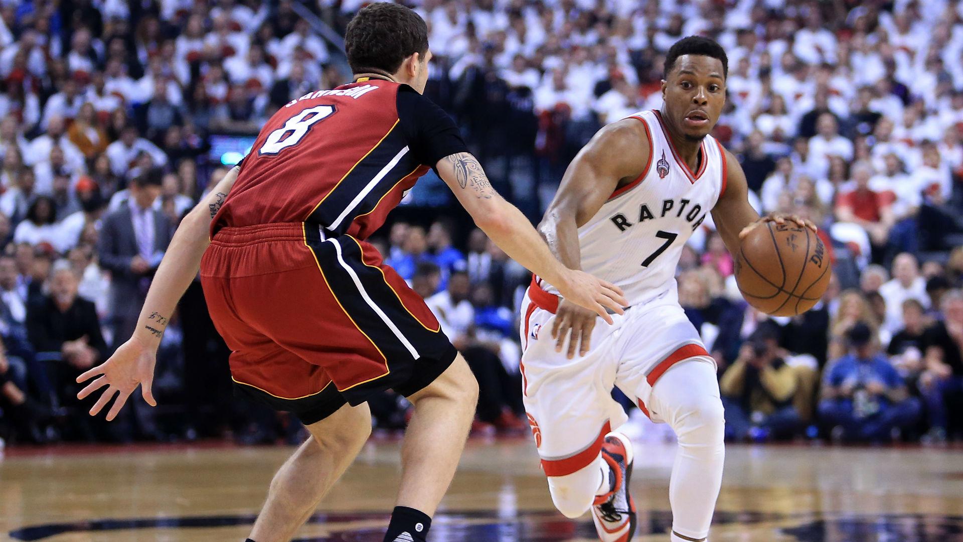 Kyle Lowrys 35 Points Against Heat Send Raptors Into East Finals