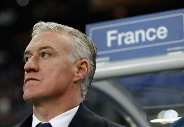 France coach Deschamps: 'We do not look behind us'