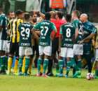 Brawl erupts after Palmeiras win