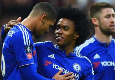 Willian vê City bem, mas confia em Chelsea na briga por Premier League