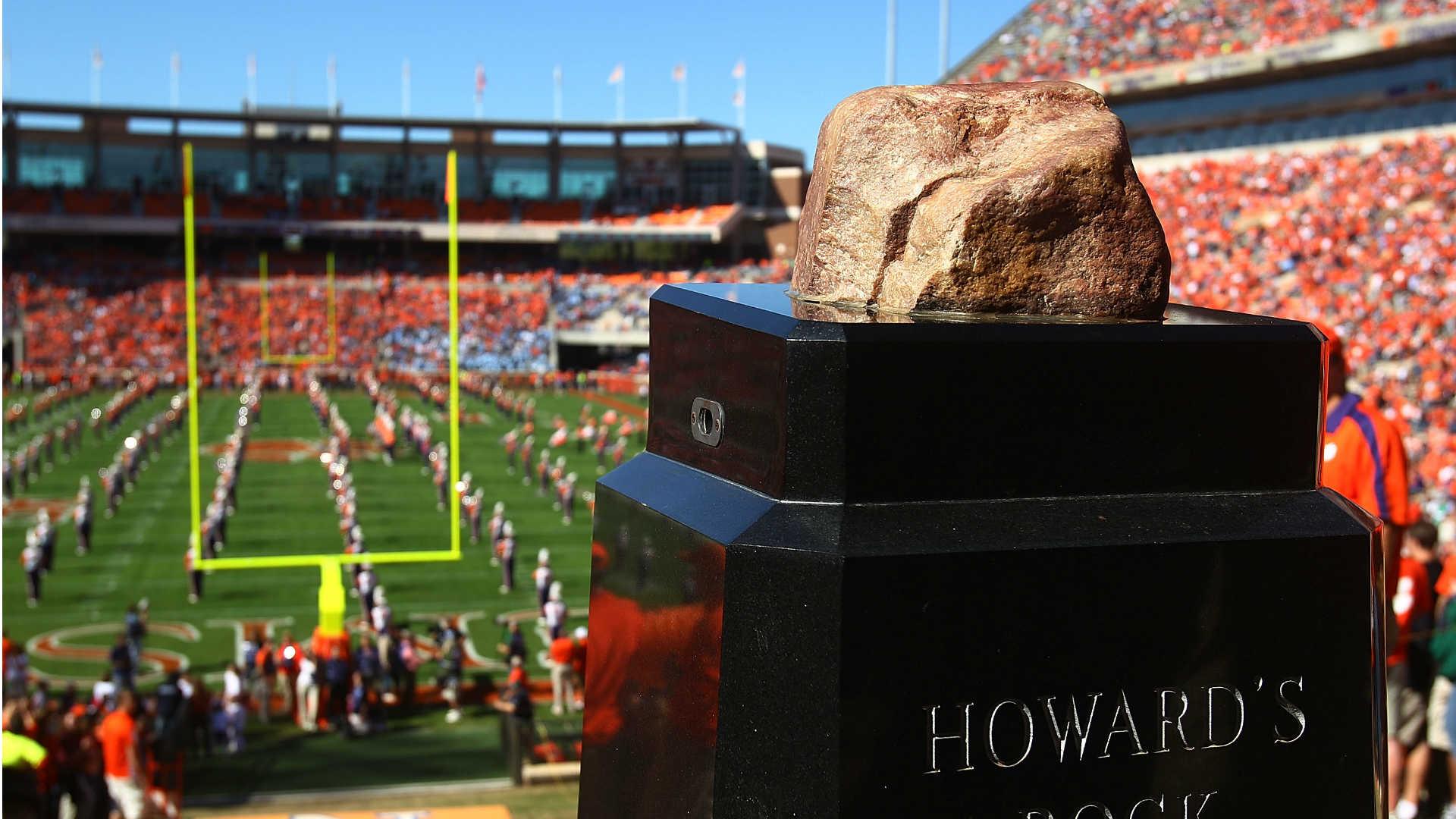 Howard's Rock at Clemson