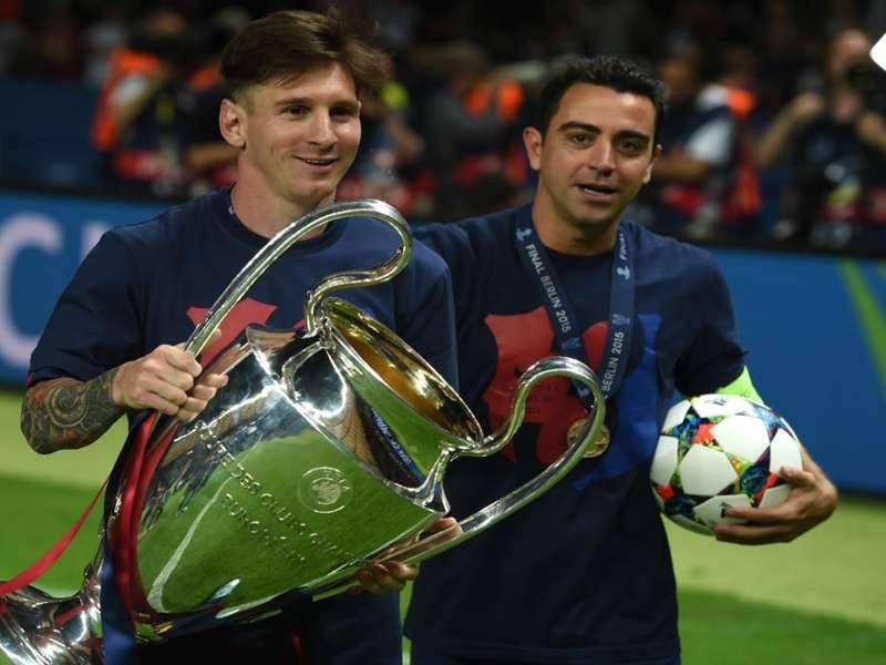 Xavi writes emotional open letter to Messi