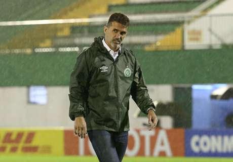 Chapecoense sack Mancini