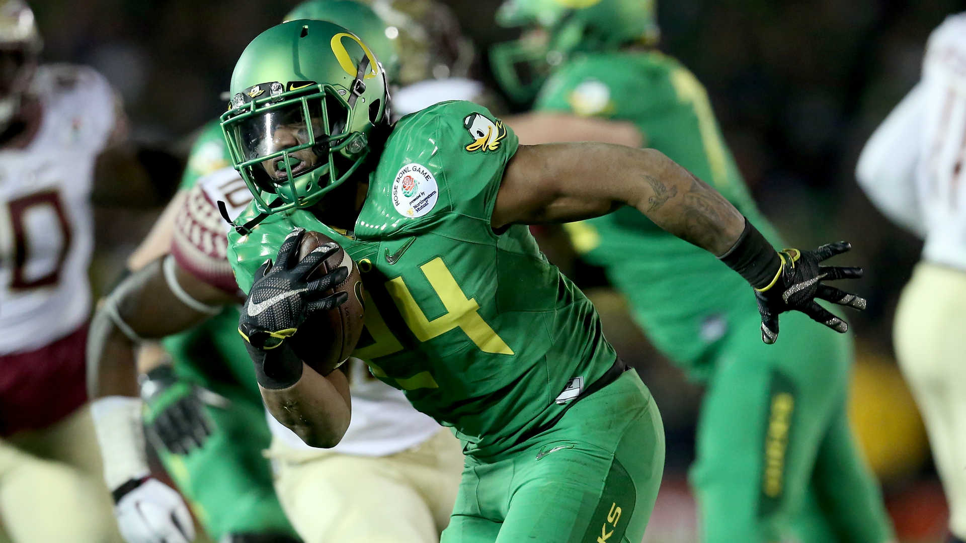 Oregon RB Thomas Tyner