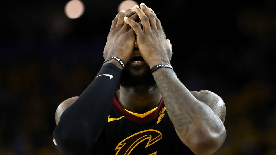 NBA Finals 2018: LeBron James leaves news conference following J.R. Smith questions | NBA ...