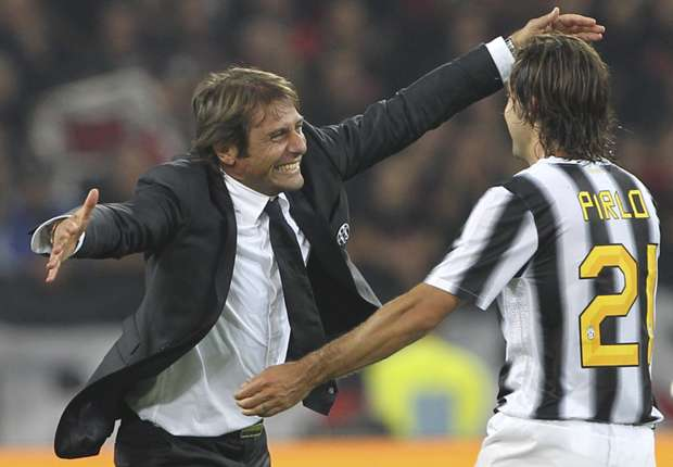 Pirlo: I hope Conte stays at Juventus