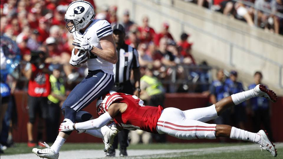 No. 6 Wisconsin upset by BYU after missing late field goal ...