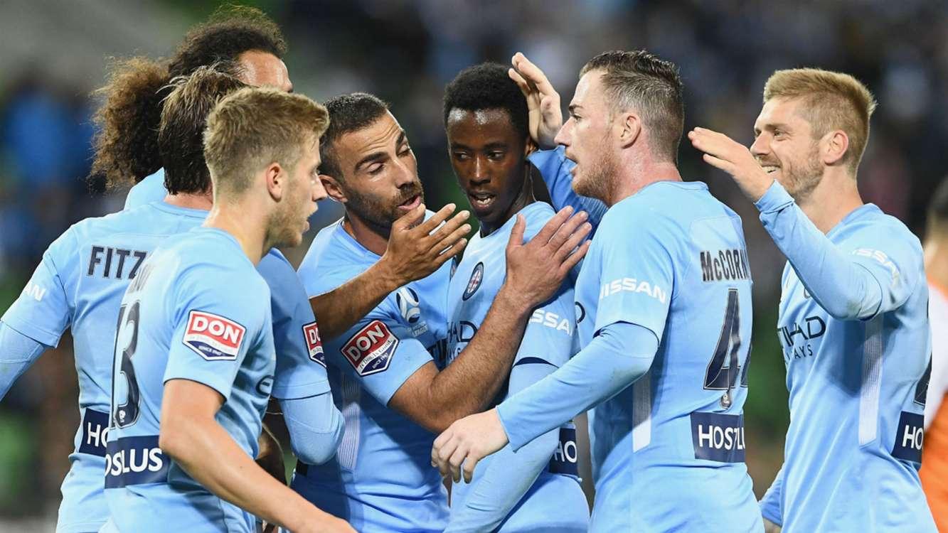 Melbourne City 2 Brisbane Roar 0: Kamau nets double as McCormack debuts