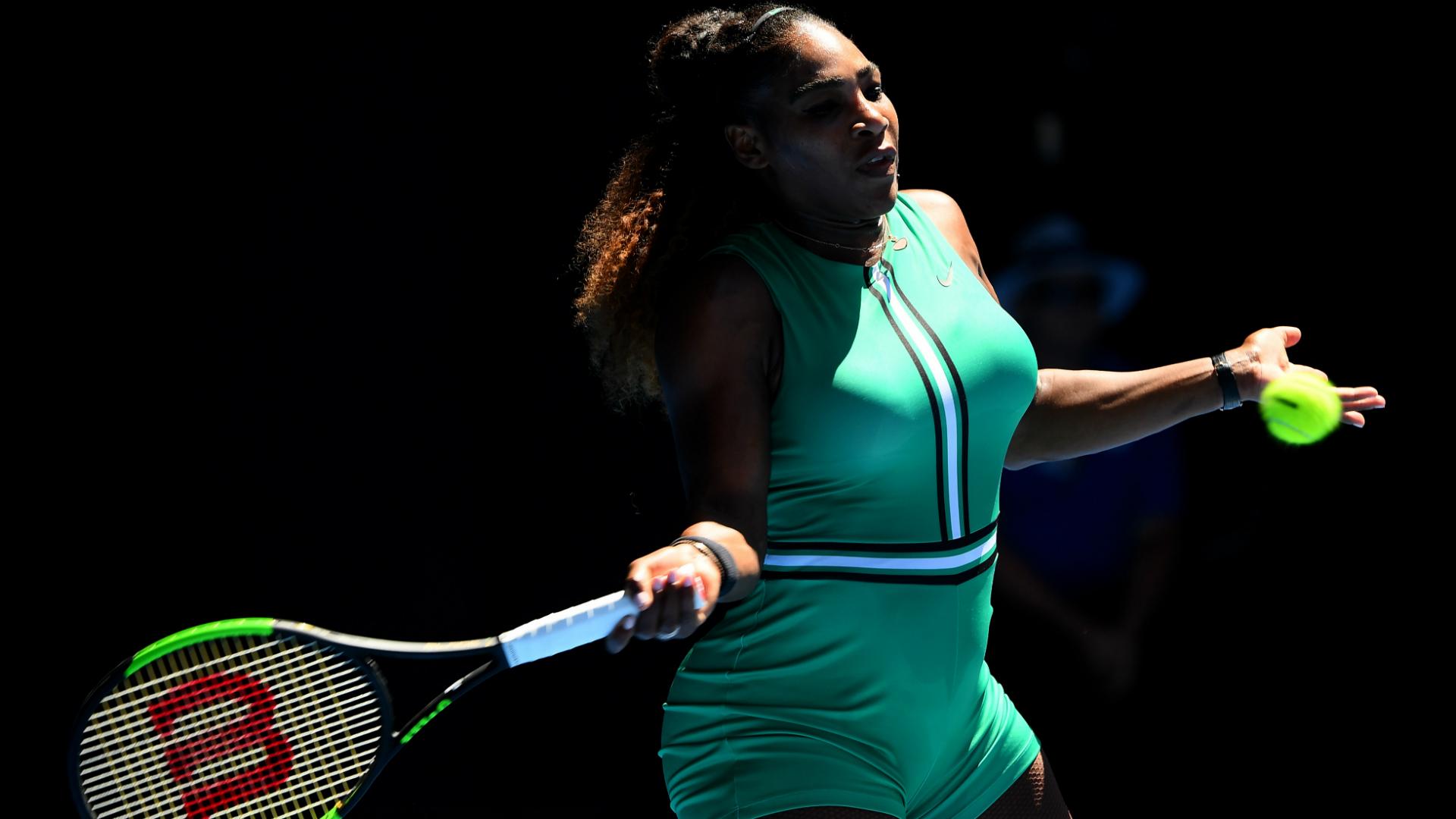 23-time grand slam champion Serena Williams