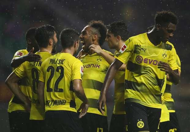 AC Milan 1 Borussia Dortmund 3: Aubameyang double downs Rossoneri