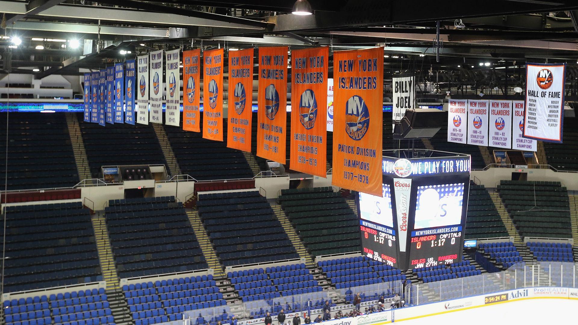 New York Islanders Looking to Play Games at Nassau Coliseum
