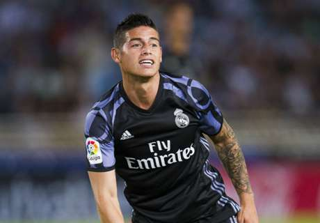 Zidane: James happy at Madrid
