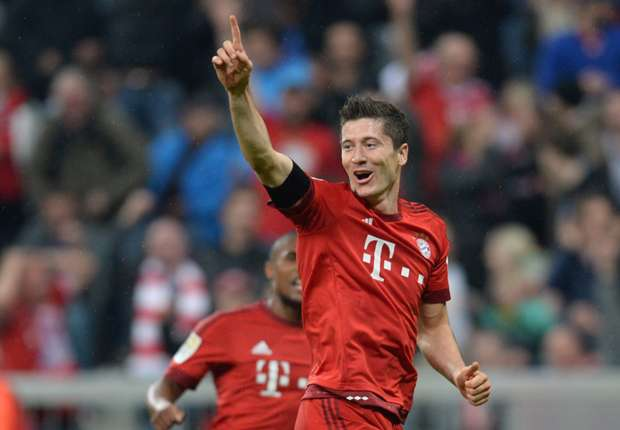 Mainz 0-3 Bayern Munich: Lewandowski scores 100th Bundesliga goal