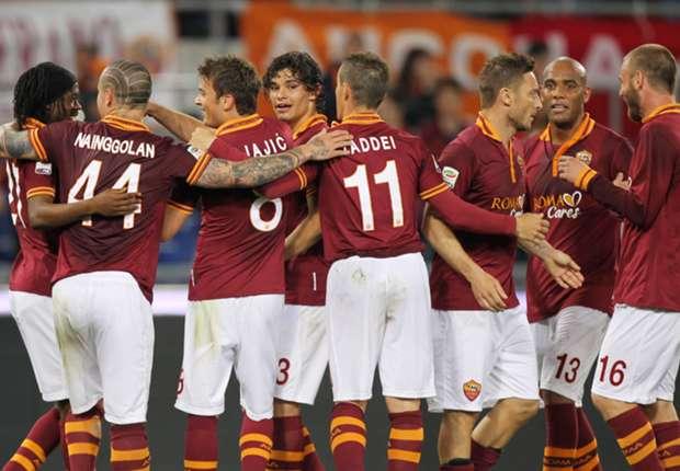 Roma 3-1 Atalanta: Totti returns inspires Giallorossi to victory
