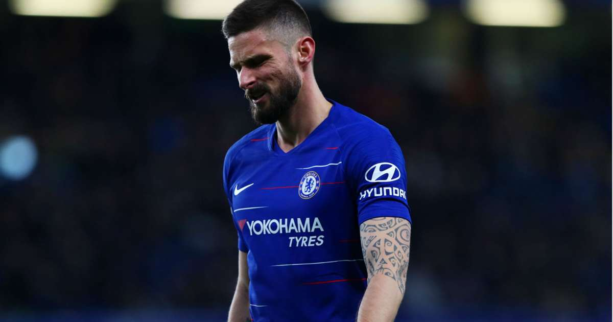 online store 43455 42bb8 Giroud 'very frustrated' with Chelsea back-up role