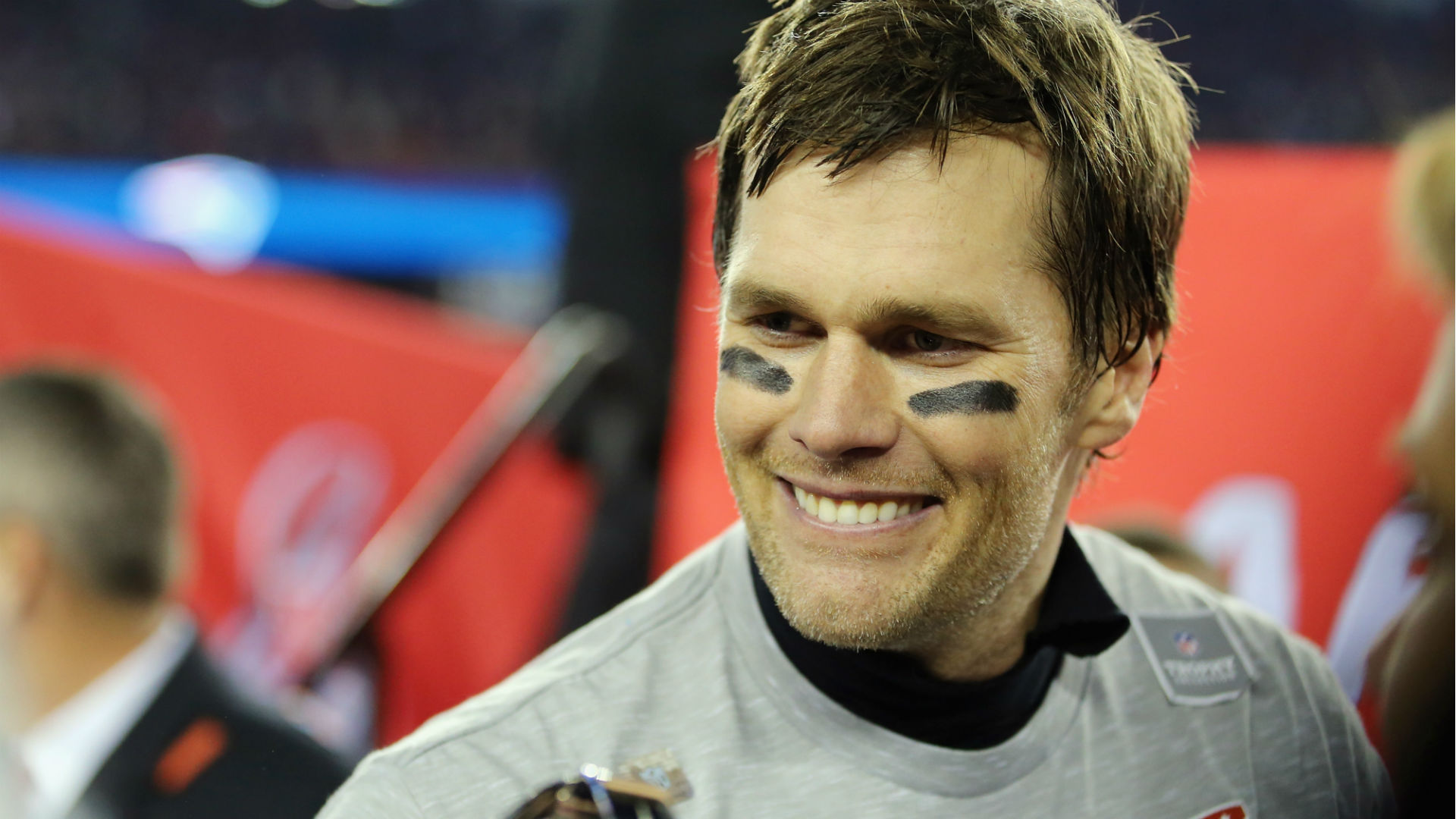 Tom Brady Shares Awkwardly Long Kiss With His 11-Year-Old Son