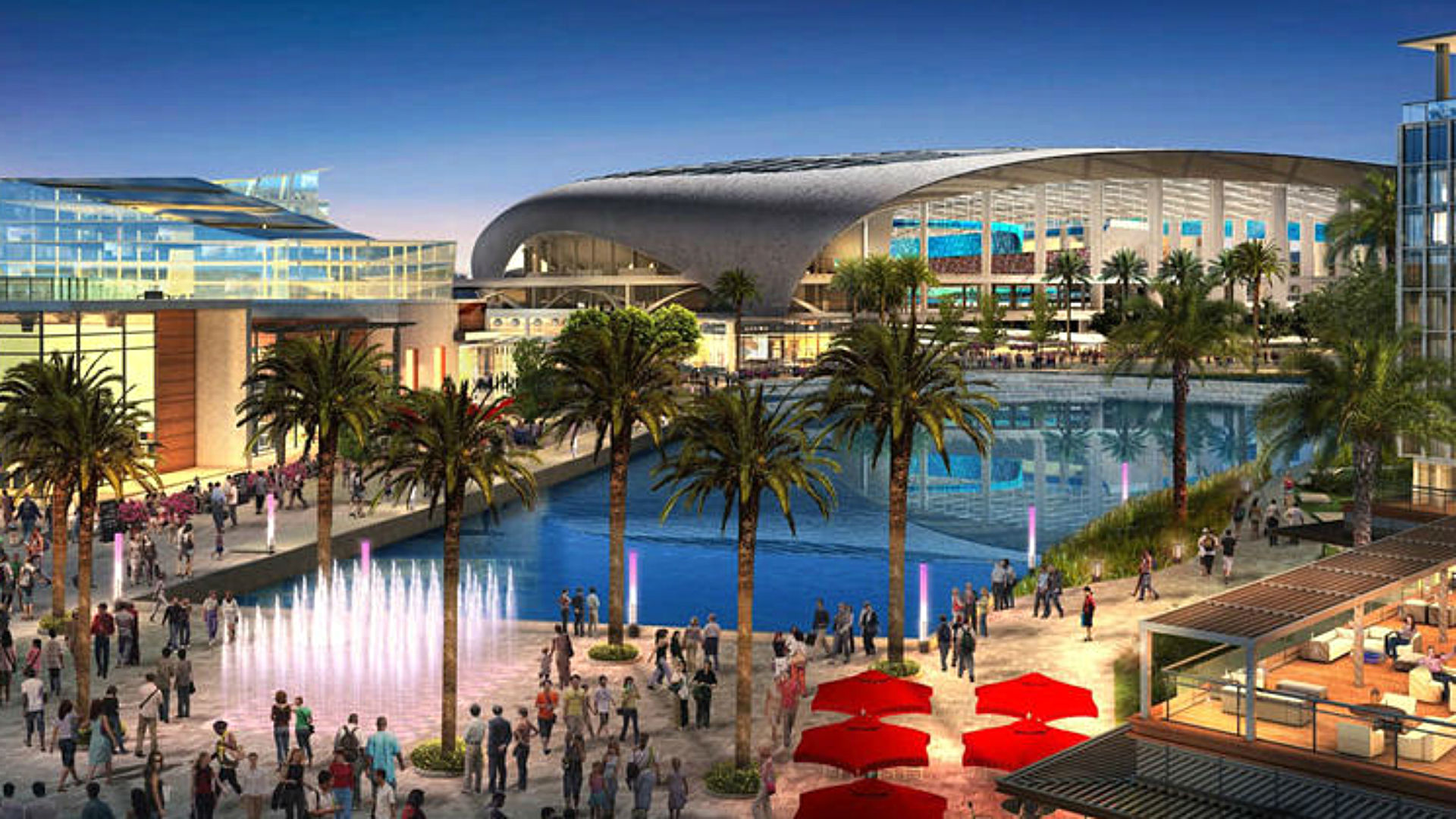 Inglewood stadium rendering