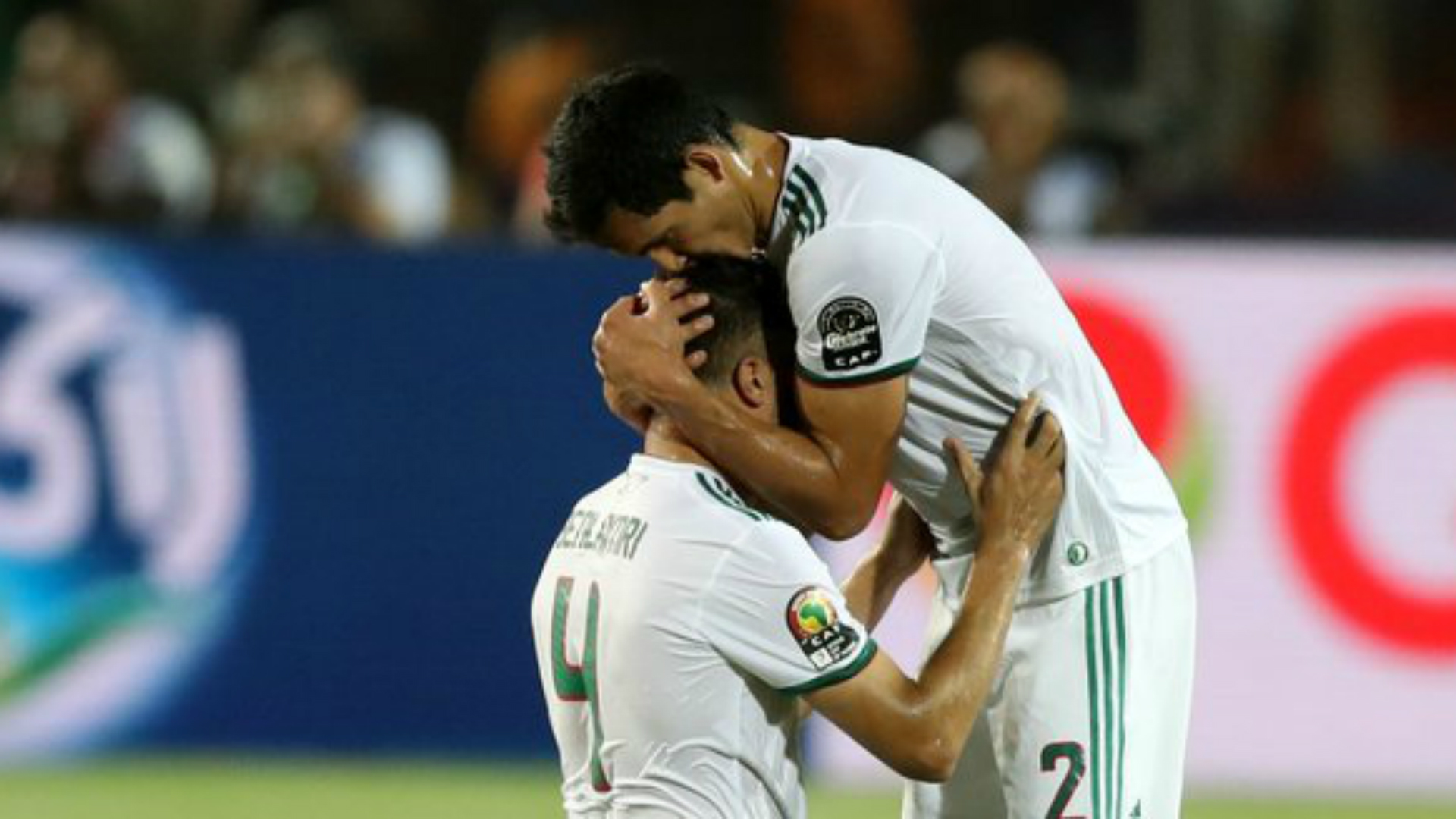 Algeria 2 Nigeria 1: Mahrez magic books final against Senegal