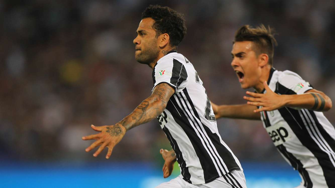 Dani Alves eyes 'the big prize' after historic Coppa Italia success