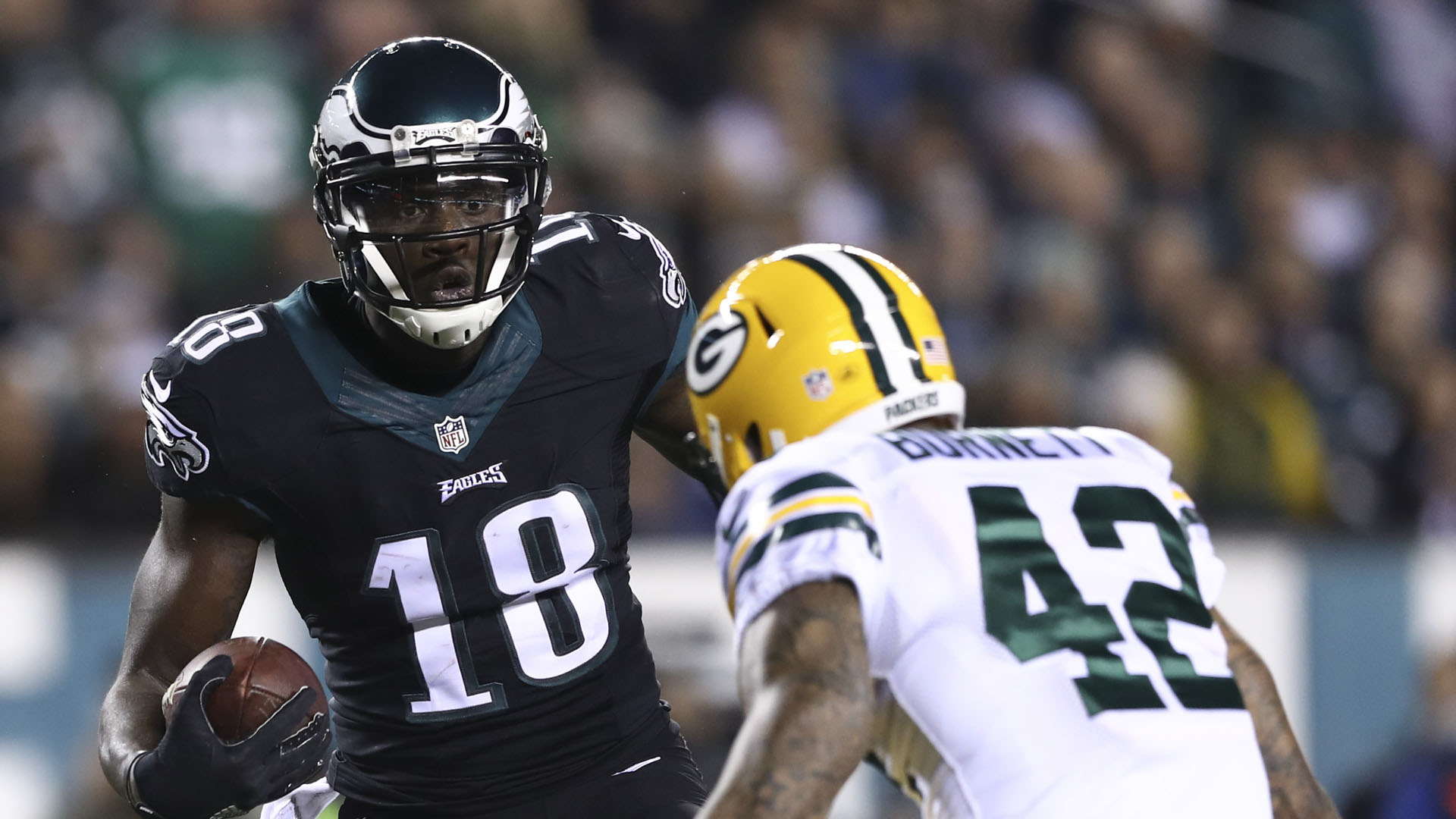 Former Titans, Eagles WR Dorial Green-Beckham arrested
