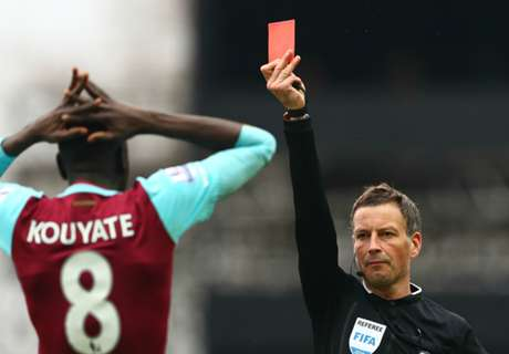 Kouyate has red card overturned