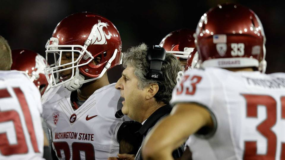 Washington State coach Mike Leach