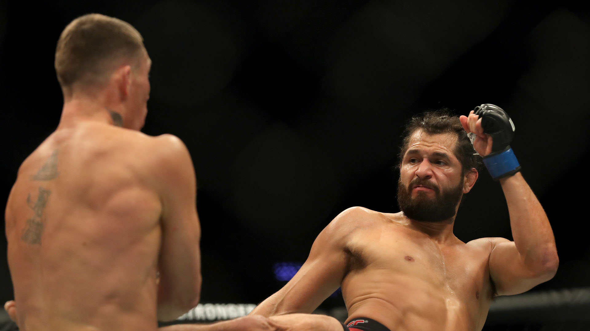WATCH: Jorge Masvidal in fist fight with Leon Edwards after win over Darren Till