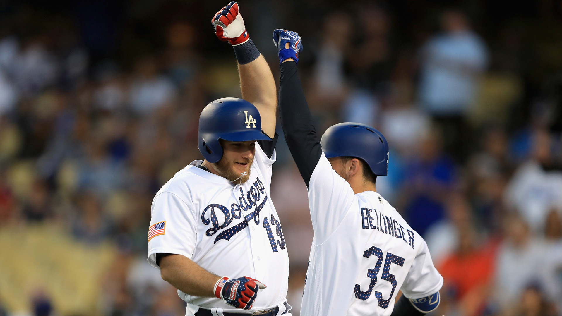 MLB wrap: Dodgers infielder matching Babe Ruth's home run prowess