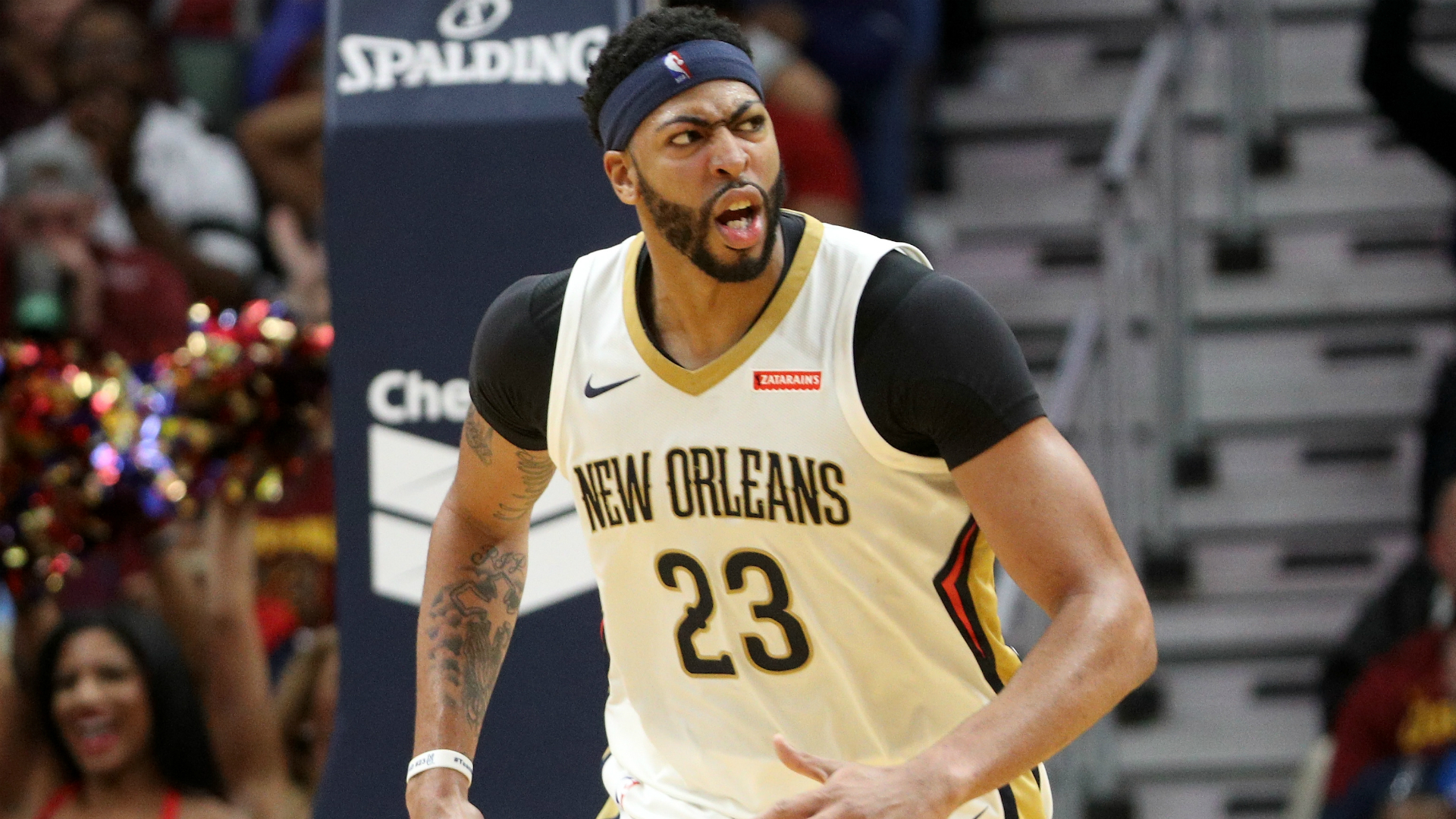 Anthony Davis Signs With Rich Paul Of Klutch Sports