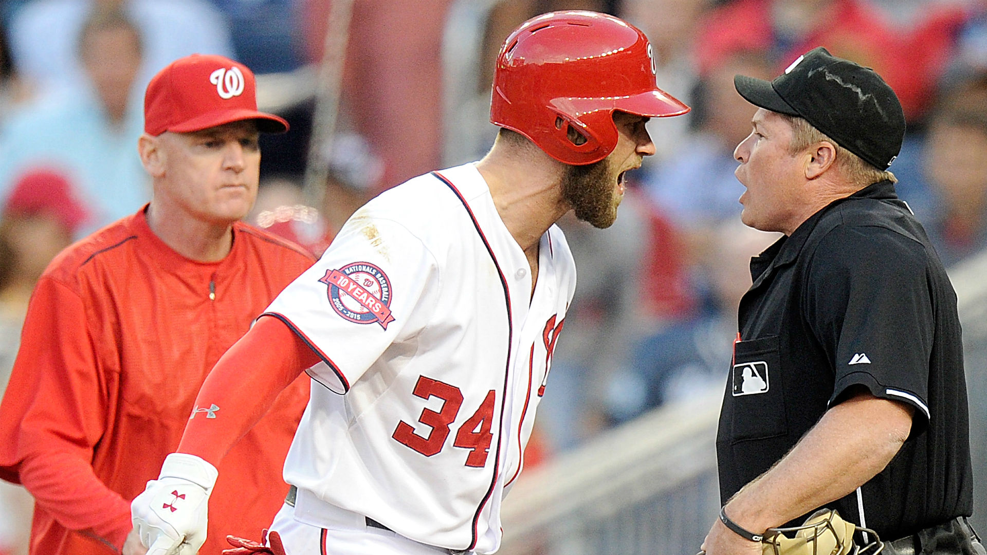 Galerry Other MLB Nightly 9 Nationals officials upset with ump over
