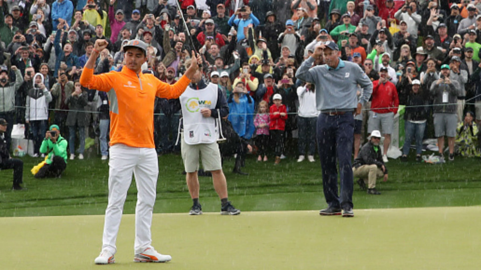 Phoenix Open: Rickie Fowler secures win despite final round struggles