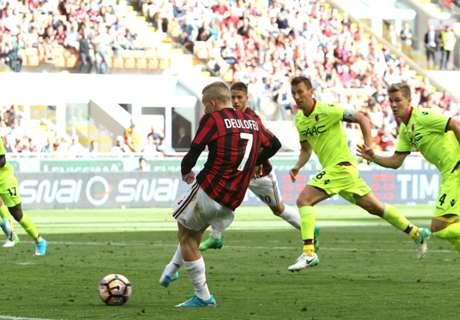 Report: AC Milan 3 Bologna 0