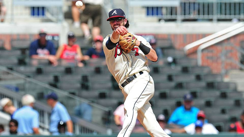 dansby swanson injury update braves shortstop has torn ligament in