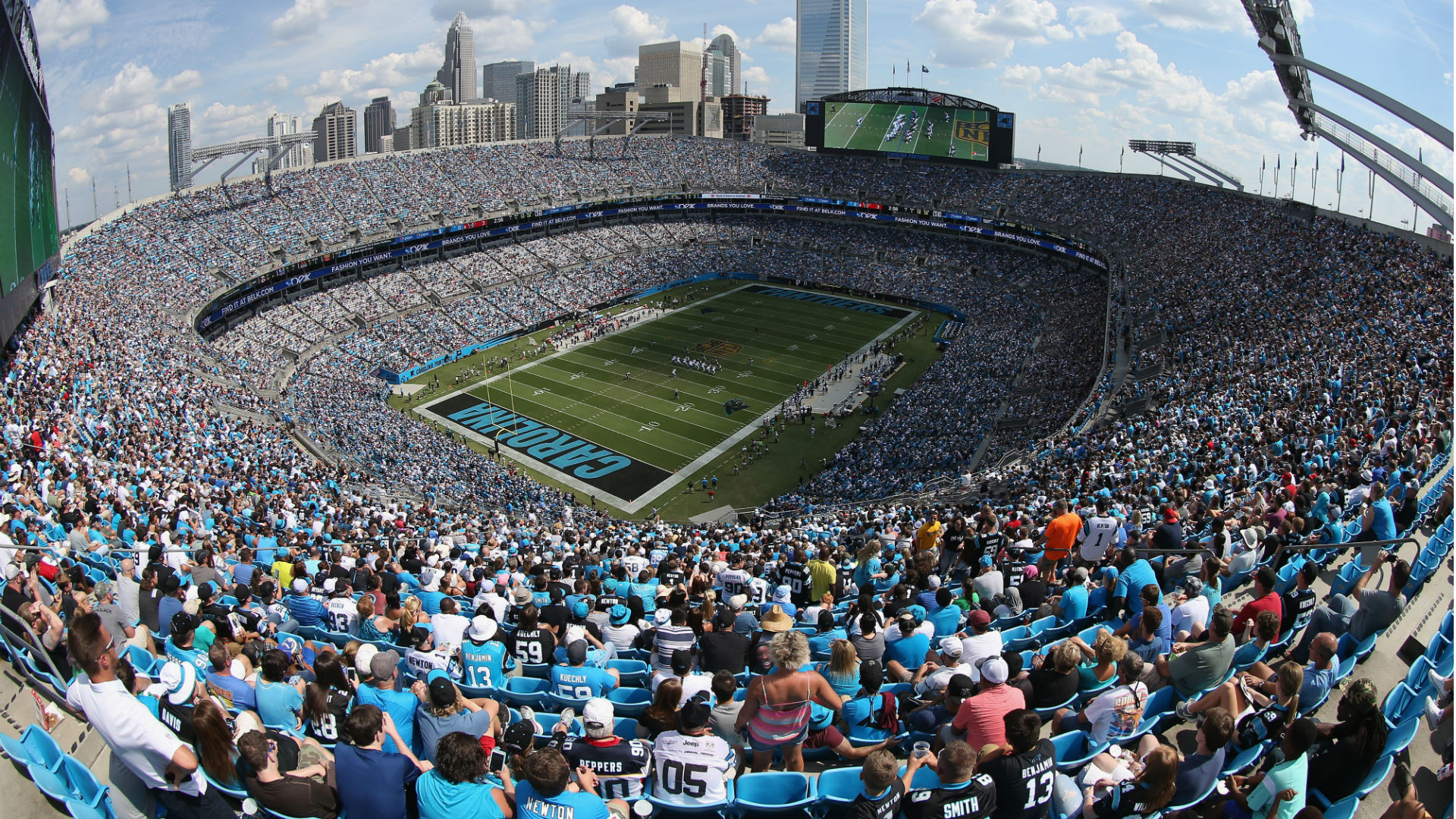 Carolina Panthers price tag reaches record-setting amount