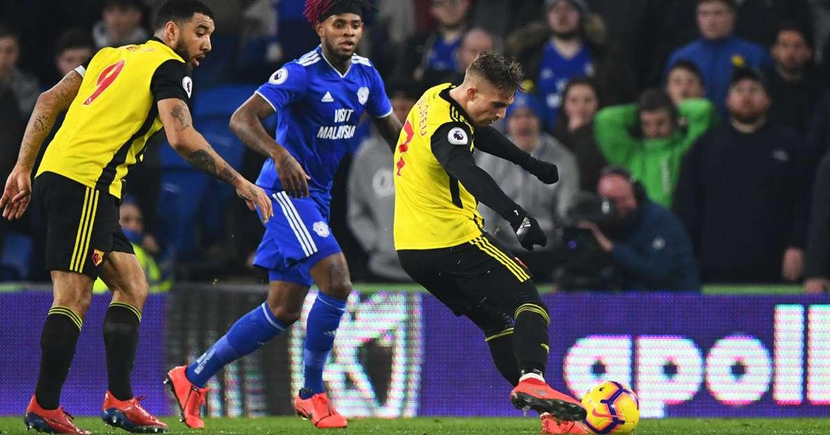 1acb4b4d366b Cardiff City 1 Watford 5: Deulofeu and Deeney down Bluebirds
