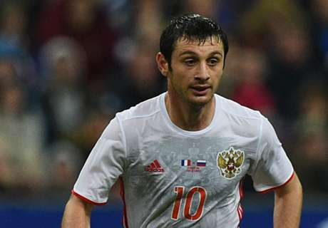 Dzagoev out of Russia squad