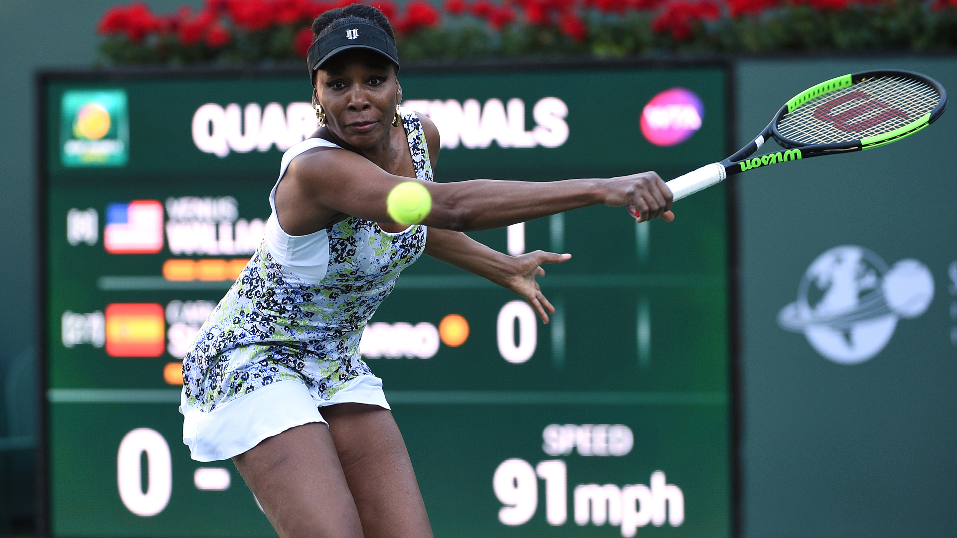 Venus Williams reaches semifinals at Indian Wells