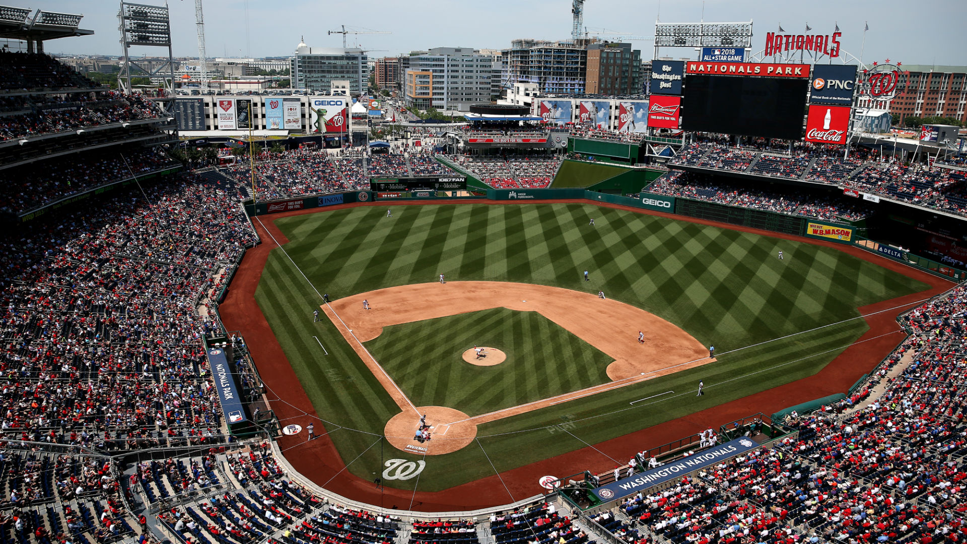 Man injured in shooting near Nationals Park, police say | MLB | Sporting News