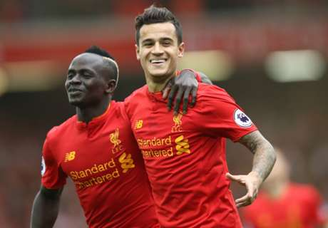 Coutinho in derby dig at Everton
