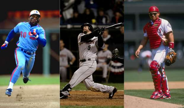 Tim Raines, Jeff Bagwell, Ivan Rodriguez